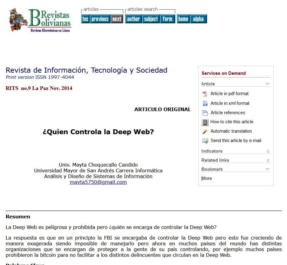 quien controla deep web